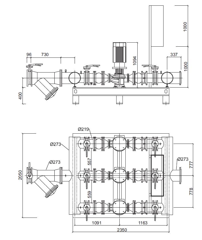 Гидромодуль YMHK-D-I-H-6A